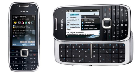 Nokia e75 - un business phone polivalent