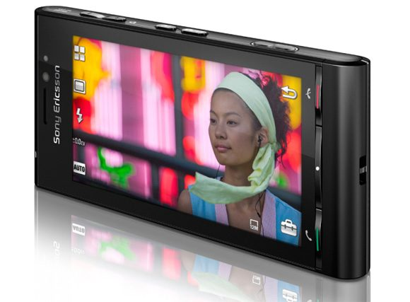 "Sony Ericsson idou - ecran tactil de 3,5"""