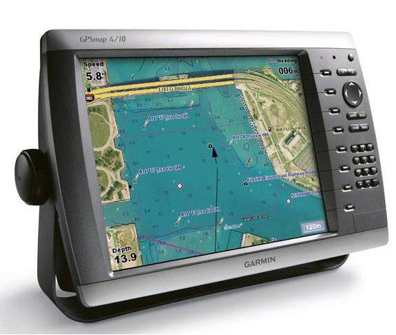 Garmin GPSMAP 4210 – adevaratul comandant al navei
