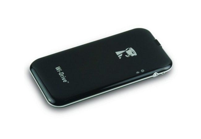 Kingston Wi-Drive, ideal pentru partajarea continutului pe telefoane si tablete