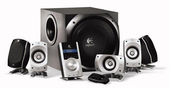 Logitech Z-5500 – un sistem 5.1 care ar putea sonoriza un mic club
