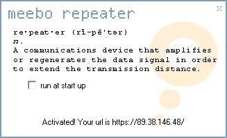Cu Meebo Repeater scapi de blocarea site-ului de catre administratorul de sistem