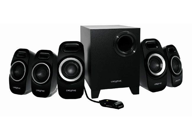 Creative are un sistem audio 5.1 pentru cei cu o camera suficient de generoasa