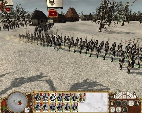 empire total war batalie iarna