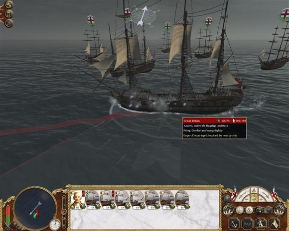 empire total war batalie navala