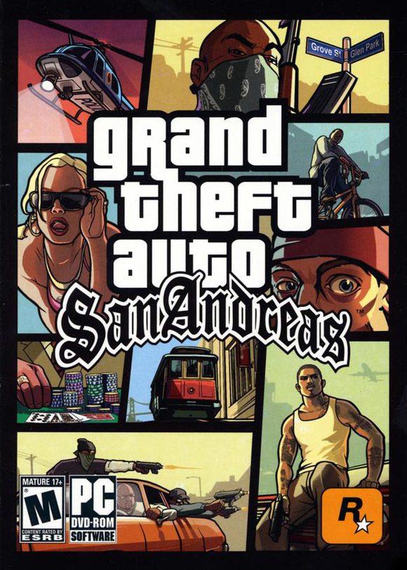 Poster GTA San Andreas