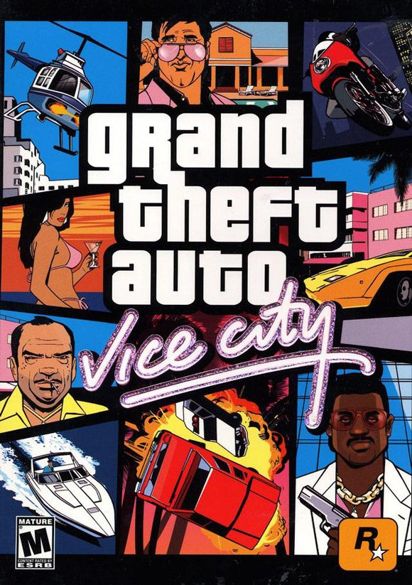 Poster GTA Vice City