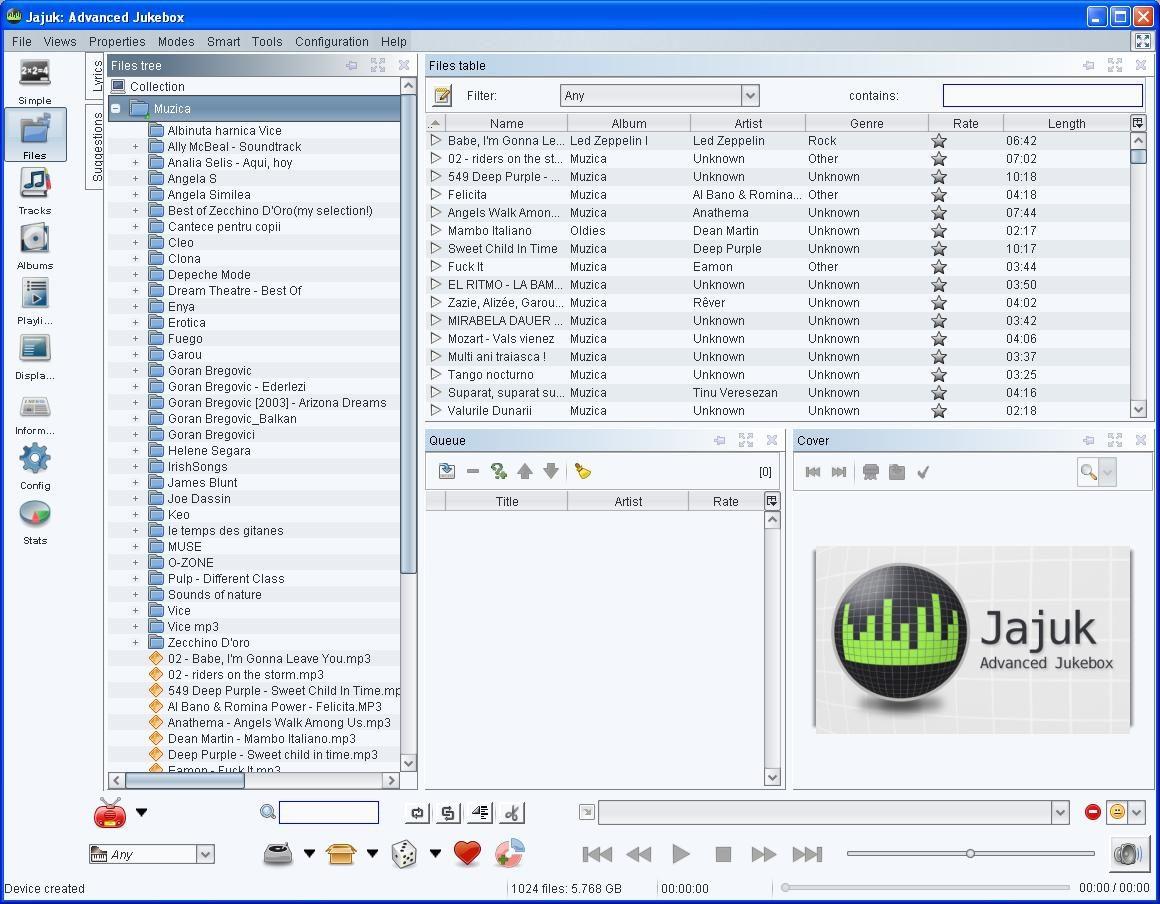 Jajuk arata mai degraba a Windows Explorer