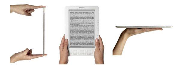 Kindle DX seamana cu o revista, fiind extrem de subtire