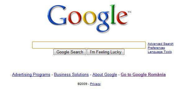 Pagina cu care majoritatea incep cautarea pe Internet