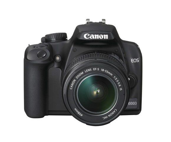 Daca pretentiile sunt mari si buzunarul e mic Canon EOS 1000D e alegerea ideala