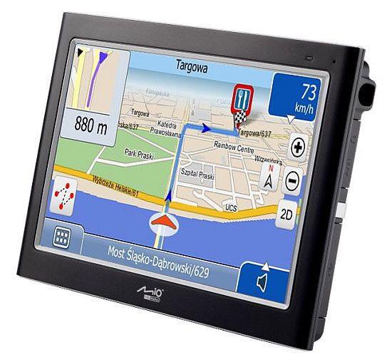 Mitac Mio C725 nu este un GPS ieftin