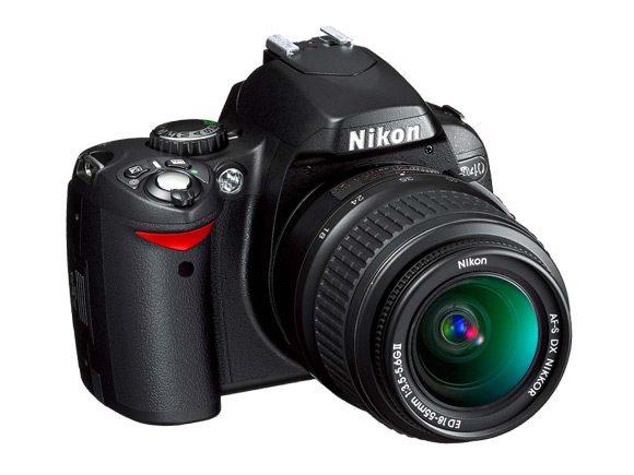 Nikon D40 – un inceput bun pentru amatori