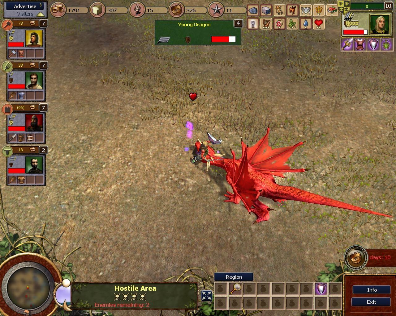 Batalie cu un dragon