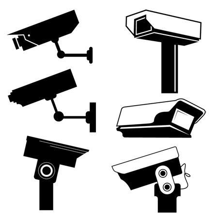 Schita unei camere video de supraveghere CCTV