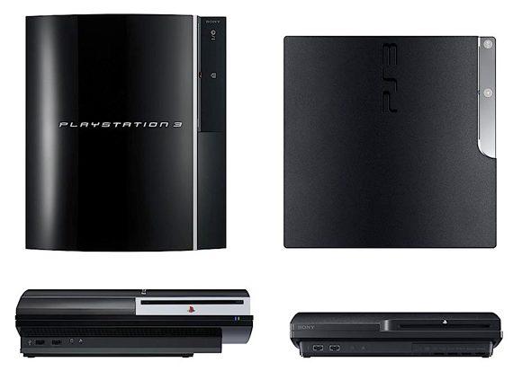 Sony PS3 versus PS3 Slim