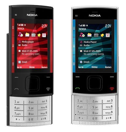 Nokia X3, elegant si subtire