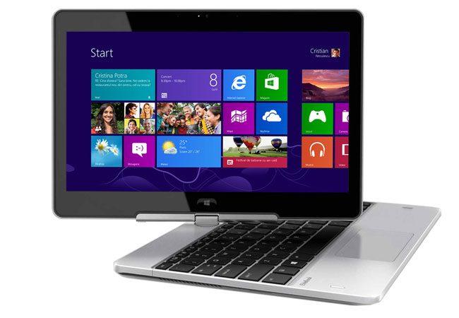 HP ofera un laptop business cu ecran rotativ