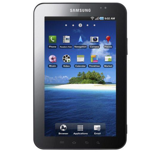 Samsung Galaxy Tab – tableta minune, detalii si poze