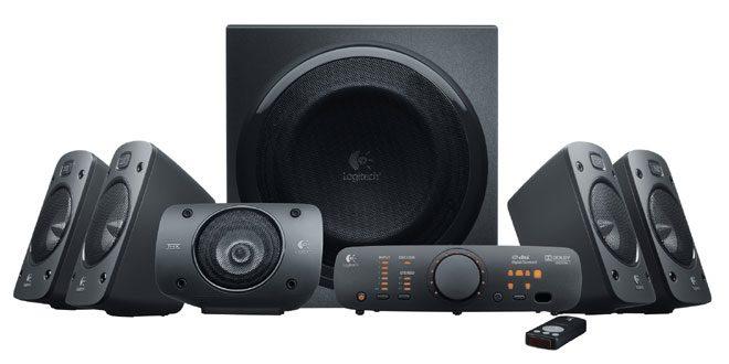 Logitech Z906 – sistem audio 5.1 cu 500 W – păreri, preţuri