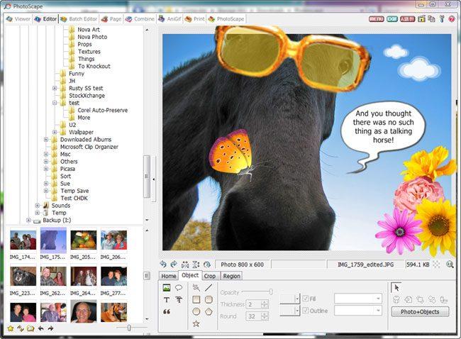 PhotoScape editeaza inclusiv GIF-uri