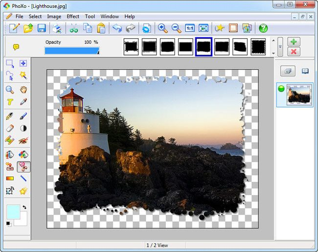 PhoXo, una dintre numeroasele alternative gratuite la Photoshop