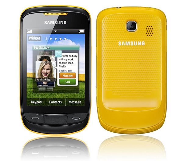 Samsung Corby 2 – smartphone Samsung ieftin