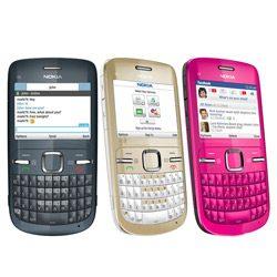 Nokia C3- Gama de culori disponibila