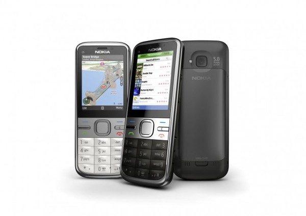 Nokia C5 5MP - eficient la un pret redus