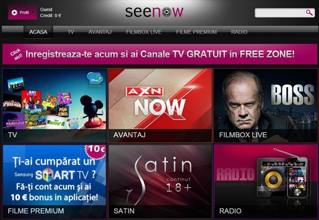 Seenow, un serviciu interesant care poate fi accesat doar pe platforme mobile