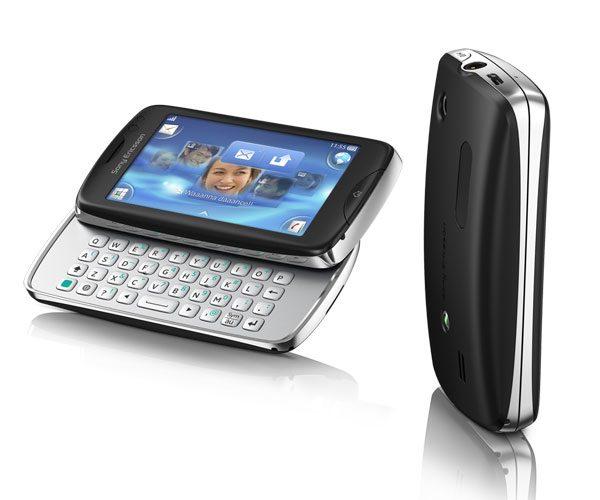 Sony Ericsson Txt Pro - ecran touchscreen si tastatura glisanta