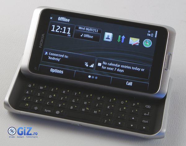 Symbian ^3 aflat la baza acestui telefon