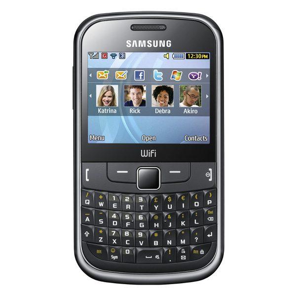 Samsung S3350 - ofera suport pentru toata suita de retele de socializare