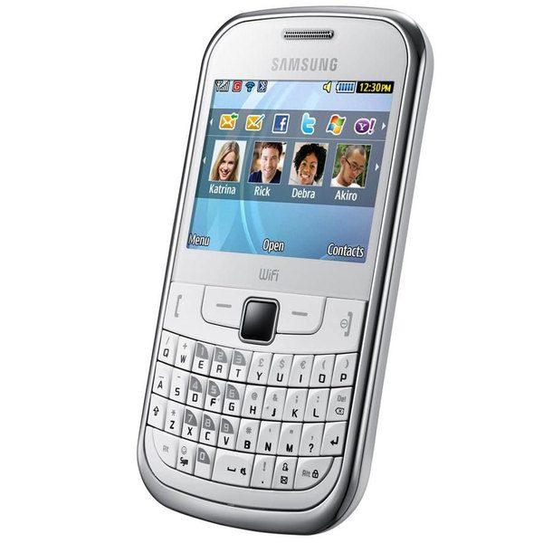 Samsung S3350 - tastatura QWERTY si joystick optic