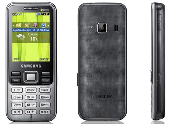Samsung C3322 – Dual SIM cu funcţii de bază