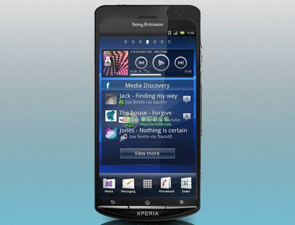 Sony Ericsson Xperia Duo - dotari de top