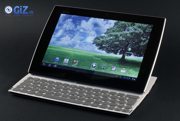 Asus EEE Pad Slider - tableta cu tastatura glisanta - o idee interesanta