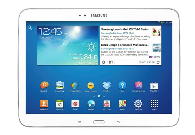 Samsung Galaxy Tab 3, o tableta potrivita pentru cei cu buget mediu