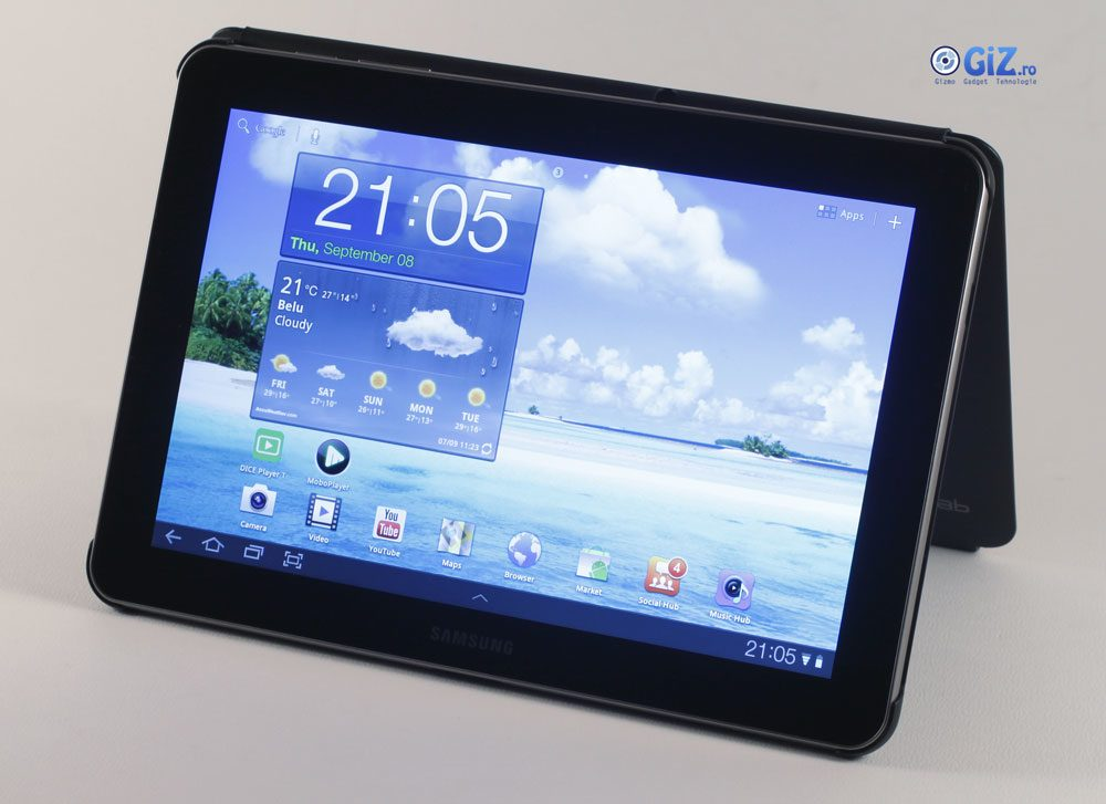 Samsung Galaxy Tab - cea mai sexy tabletă cu Android a momentului