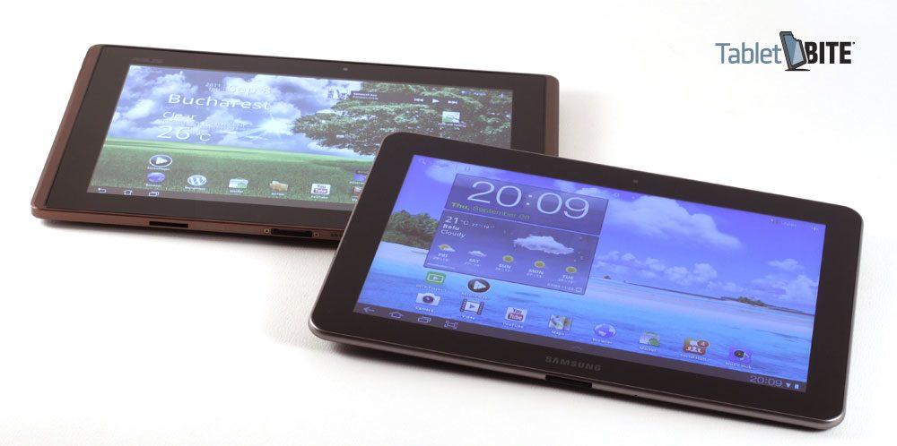 În vreme ce între tabletele cu Android, Asus-ul Transformer îi este probabil cel mai important rival