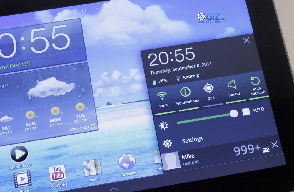 Sistemul Quick Info este o modificare binevenită adusă de TouchWiz