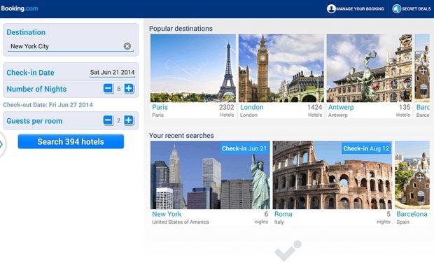 Booking, o aplicatie utila pentru rezervari la hoteluri