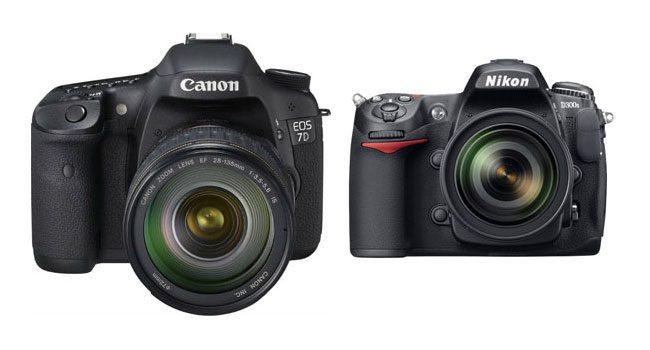 Canon 7D si Nikon D300S, pentru cei care vor sa devina profesionisti