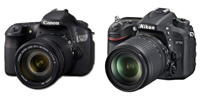 Canon sau Nikon – Care e mai bun şi ce să alegi?