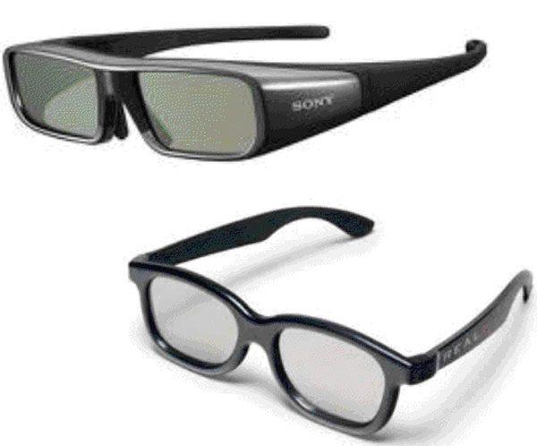 Ochelari pasivi si activi