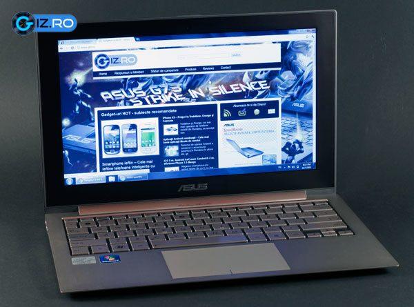 Ecranul este principalul neajuns al acestui laptop