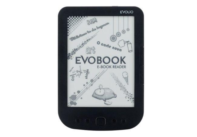 Evobook 3 este unul dintre cele mai ieftine ebook readere