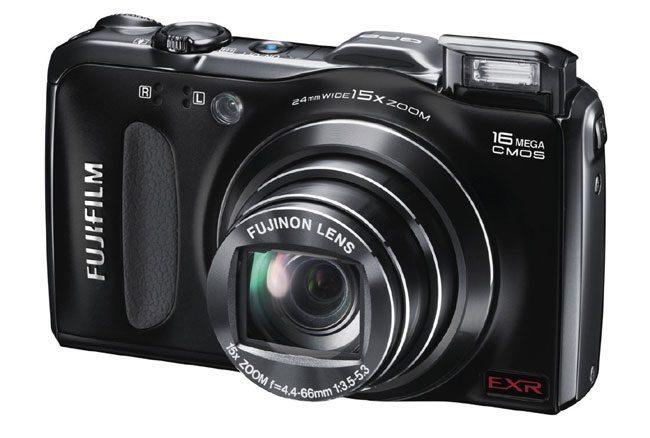 Fujifilm FinePix F600EXR este un alt aparat foto cu GPS
