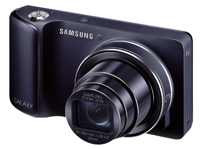 Samsung Galaxy Camera, un aparat foto cu GPS si Android