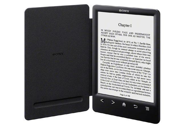Sony este de asemenea prezenta pe piata ebook readerelor